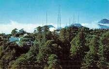 Mt Wilson California Tv Towers Birdseye View Vintage Postcard K50353