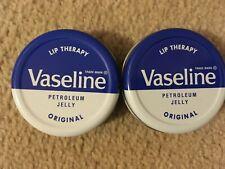 Vaseline Lip Therapy 2 x 20g Petroleum Jelly