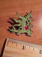 NM Mega M TYRANITAR EX Metal PIN/BADGE Pokemon ANCIENT ORIGINS XY 42-43-91-92/98