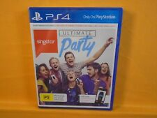 ps4 SINGSTAR ULTIMATE PARTY New & Sealed Game Singing Karaoke PAL REGION FREE