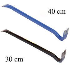 Leverino in acciaio piede di porco 30 cm 40 cm leva tira chiodi carpentiere