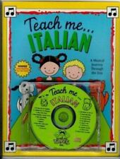 Teach Me Italian (Paperback and Audio CD): A Musical Journey Through the Day