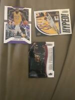 2019-20 Prizm Lebron James Base & Hyped First Lakers Prizm Card * Nba Finalist