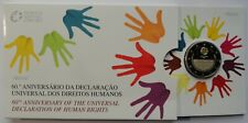 Original 2 EURO Human Rights 2008 Coin  Blister PP Proof Portugal