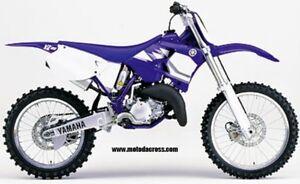 Set Plástico Carenado Acerbis Yamaha YZ 125/250 2000-2001 0007580