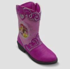 New Disney Princess Pink Cowboy Boots Toddler Girl Size 6