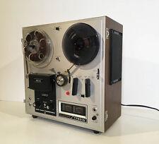 Rare magnétophone à bande AKAÏ avec ampli et HP intégrés NO REVOX