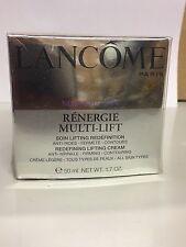 Lancome Renergie Multi-Lift Cream Anti-Weinkle-Firming-Contouring 50ml Neu
