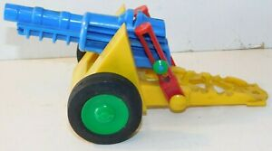Old NOSCO PLASTICS U.S.A. 1950s Plastic, Artillery Howitzer For Toy Soldiers