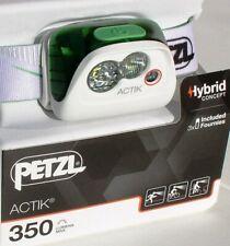 Petzl Actik - Aktive Stirnlampe in GREEN - 350 Lumen, Kopflampe, Headlight