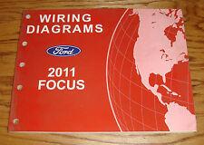 Original 2011 Ford Focus Wiring Diagrams Manual 11
