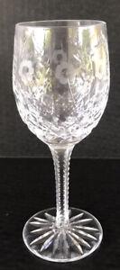 """Vintage Rogaska Crystal Gallia Wine Glass 7 1/8"""" Star Base"""