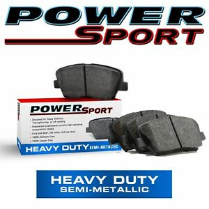 For 1990 Chevrolet Astro PowerSport Front Super Duty Brake Pads