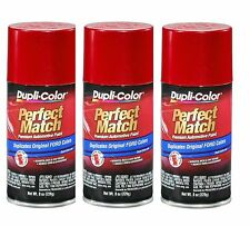 3 Cans-Duplicolor BFM0379 For Ford Code G2 Redfire Pearl Aerosol Spray Paint