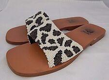 Yellow Box Women's Pearl Animal Design Flip Flop Slip on Shoes 6.5 M