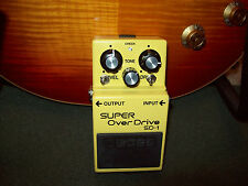 Boss SD-1 with Sparkle Mod! See the video!