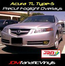 04-08 Acura TL Precut Fog Light JDM yellow Overlays TINT Film Vinyl wrap covers