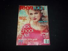 2011 AUGUST TEEN VOGUE MAGAZINE - TAYLOR SWIFT - BEAUTIFUL FRONT COVER - F 1643