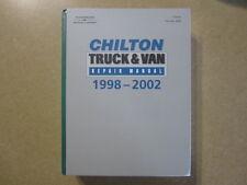 Ford Chevy Dodge Honda Toyota Nissan GMC Truck & Van service manual 1998-2002