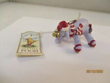 Retired Midwest of Cannon Falls Classic Pooh Eeyore Skating Ornament