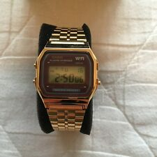 683be41fff96 Casio Para Hombre Digital Gold-Tone de acero inoxidable con dial digital a  159 WGEA - 5DF
