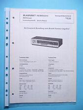 MANUEL DE REPARATION POUR BLAUPUNKT MADRID 7 622 340, original