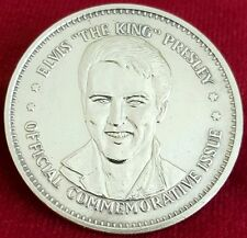 ELVIS PRESLEY THE KING OF ROCK AND ROLL MEDAL DOUBLE EAGLE COIN