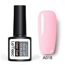 8ml LEMOOC Nail UV Gel Polish Soak off Nude Pink Nail Art UV/LED Gel Varnish