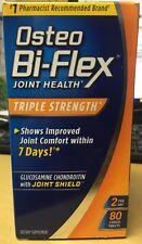 Osteo Bi-Flex Joint Health Triple Strength 80 Tablets, New