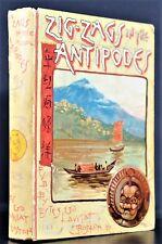 Zigzag Journeys Antipodes Hezekaih Butterworth 1888 Illust Travel South Seas