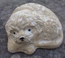 dog concrete plastic mould Poly plastic multi breed casting mold