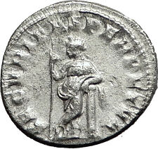 GORDIAN III 244AD Silver Authentic Genuine Ancient Roman Coin Security i59073