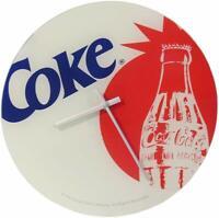 """Coke Coca Cola 12"""" Glass Wall Clock"""