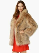 JUICY-COUTURE-Blonde-Wilde-Faux-Fur-Coat-Size-M/L-548-NWT