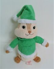 """TY Theodore from The Chipmunks 7"""" Soft Toy Plush Beanie Comforter  EXCELLENT"""