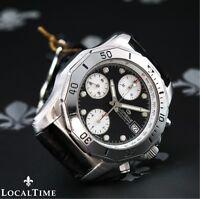 LORENZ [Swiss] Professional Automatic 200m Chronograph Watch Valjoux Cal. 7750