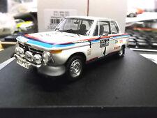 BMW 2002 TI RALLY RAC GB 1973 #4 Waldegaard CASTROL tr1711 1:43 Trofeu