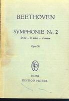 Beethoven ~  Sinfonie Nr. 2 D-Dur, Op. 36 - Studienpartitur