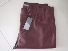 0c82b430cbf Katies Essential Plum Pull on Style Coated Stretch Jeans Size 16