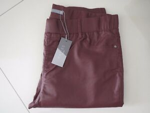 Katies  Essential Plum Pull On Style Coated Stretch Jeans  Size 20