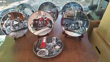 Lot Of 7 Harley-Davidson Collector Plates Franklin Mint And Hamilton