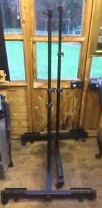 2 x Heavy Duty Wheeled Lighting Stands, Ideal Photographic Studio, Courtenay?