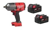 "Milwaukee 2767-20 M18 FUEL ½"" Impact WrenchGEN II 1400lbs + (2) 48-11-1850 5.0AH"