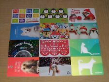 Animals and Pet Stores   12 different new  collectible gift cards