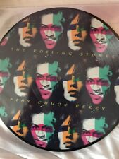 "THE ROLLING STONES PLAY CHUCK BERRY LTD /1000  PICTURE DISC 10"" VINYL NEW / MINT"