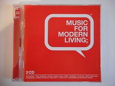 MUSIC FOR MODERN LIVING feat. QUINCY JONES, BEN WATT...     CD ALBUM   PORT 0€ !