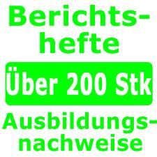 Brauer und Mälzer  Berichtsheft Ausbildung-7853Nachweis Ausbildungsnachweis
