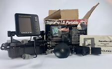 Eagle SupraPro I.D. Fish Finder Depth Finder Used Very Good condition w/ manual