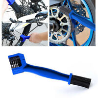 1Pcs Cycling Bicycle Motorcycle Chain Cleaning Tool Gear Grunge Brush Cleaner US