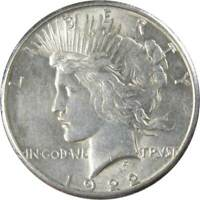 1922 S Peace Dollar XF EF Extremely Fine 90% Silver $1 US Coin Collectible